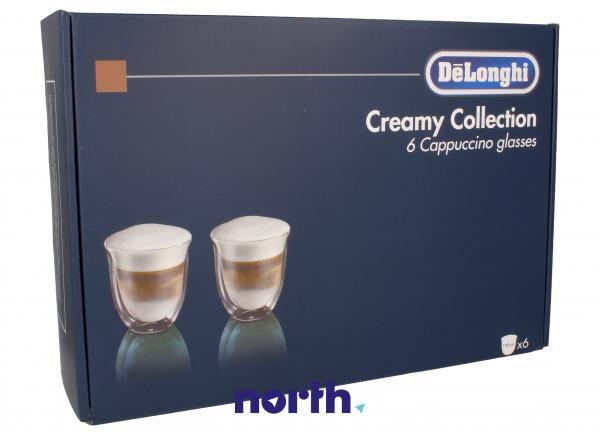 DLSC301 Szklanki do kawy Cappuccino 6szt. do ekspresu do kawy,1