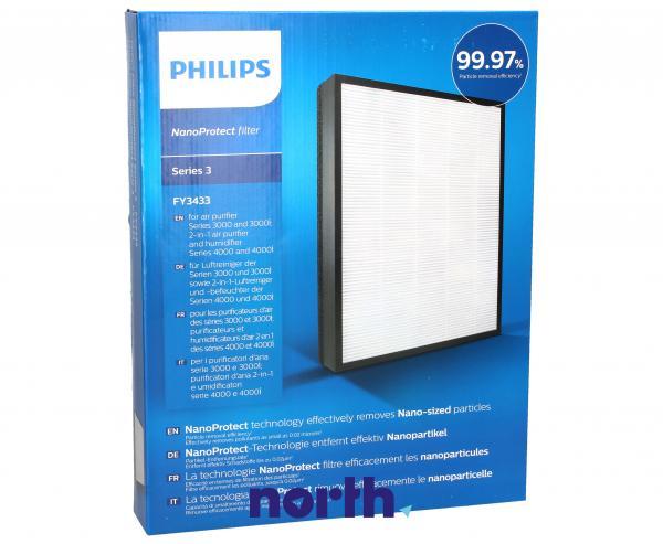Filtr HEPA do oczyszczacza powietrza PHILIPS/SAECO FY3433/10 FY3433/10,0