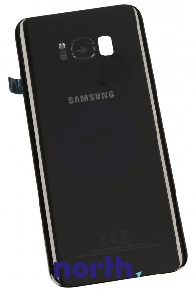 Klapka baterii do smartfona Samsung Galaxy S8 GH8214015A (czarna),0