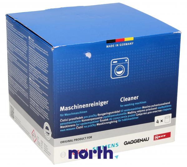 Preparat czyszczący (proszek) Bosch 4szt. 200g do pralki,2