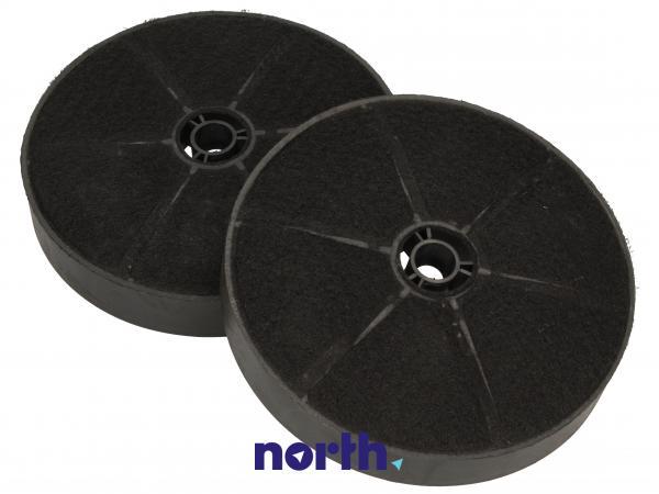 Filtr węglowy aktywny w obudowie (okrągły) do okapu 1161077,1