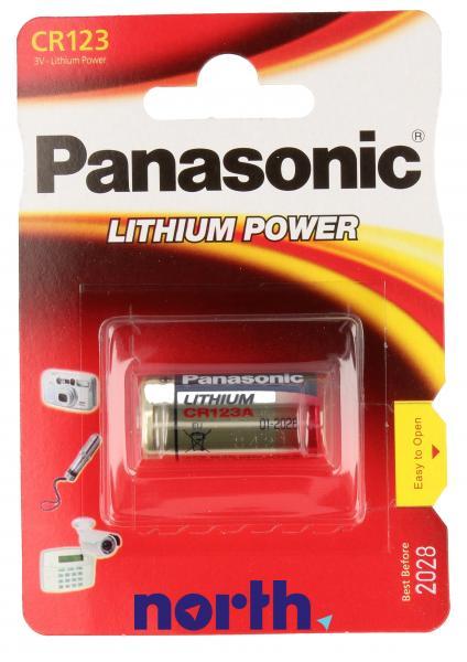 Bateria   Akumulator do aparatu fotograficznego Panasonic CR123AL1BP,0