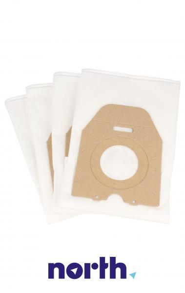 Worki Perfect Bag Worwo (4szt.) + filtr wlotowy (1szt.) do odkurzacza PMB02K,3