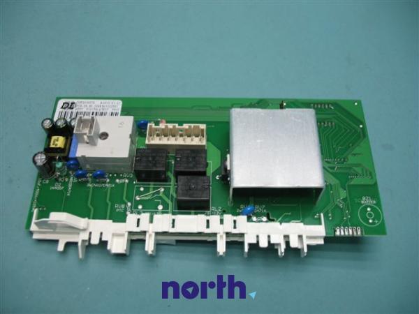 Moduł elektroniczny PC4.04.46.104 skonfigurowany do pralki Amica 8036578,1