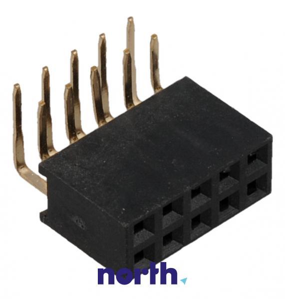 Gniazdo kątowe 2X5PIN,0