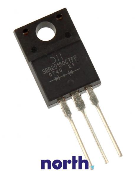 SBR20150CTFP TO220 IZOL. DIODA,0