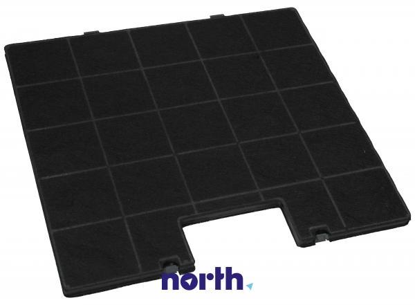 Filtr węglowy aktywny w obudowie do okapu,0