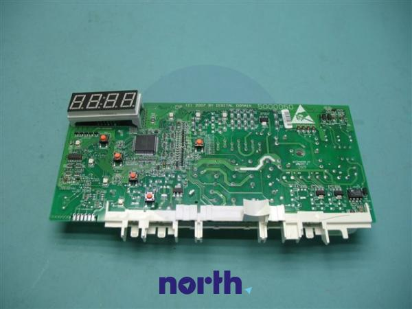 Moduł elektroniczny PC5.04.46.104 skonfigurowany do pralki Amica 8036577,1
