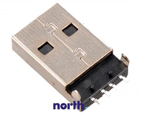Wtyk USB A USB A do druku (kątowy),1