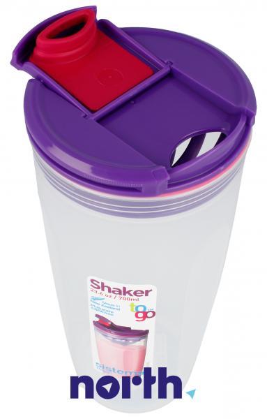 shaker sistema fioletowy 700 ml