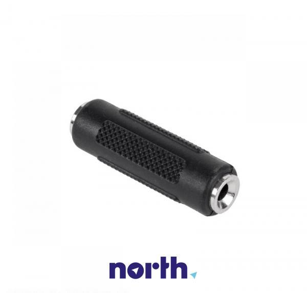 Łącznik JACK 3.5mm stereo - JACK (gniazdo/ stereo gniazdo),1