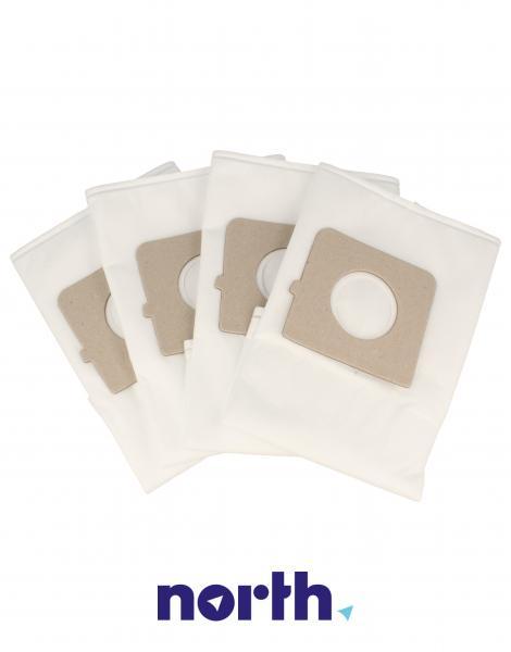 Worki Perfect Bag Worwo (4szt.) + filtr wlotowy do odkurzacza LMB02K,2