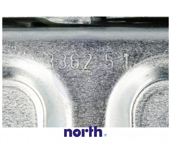 Zawias K99A drzwi (górny prawy / dolny lewy) do lodówki Amica 8022610 Hettich,3