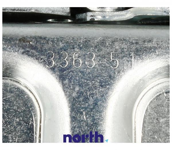 Zawias K99B drzwi (górny lewy / dolny prawy) do lodówki Amica 8022611 Hettich,3