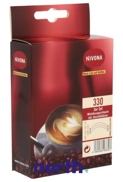 Rurka zasysająca spieniacza mleka 3szt. do ekspresu do kawy Nivona NIMA330,0