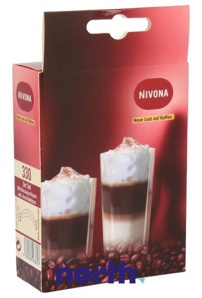 Rurka zasysająca spieniacza mleka 3szt. do ekspresu do kawy Nivona NIMA330,1