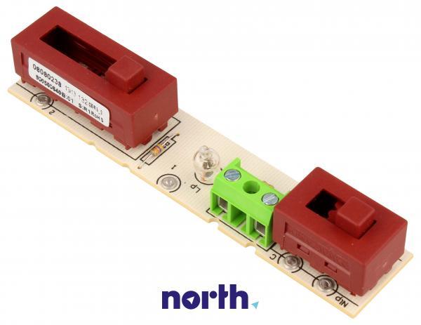 Sterownik | Płytka z przełącznikami panelu sterowania do okapu Amica 1007131,1