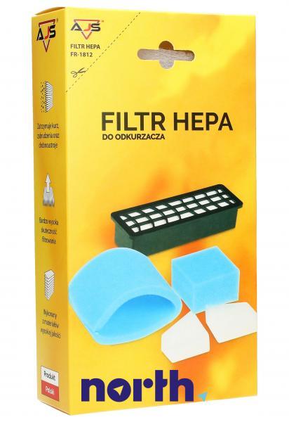 Zestaw filtrów FR-1812 do odkurzacza,0