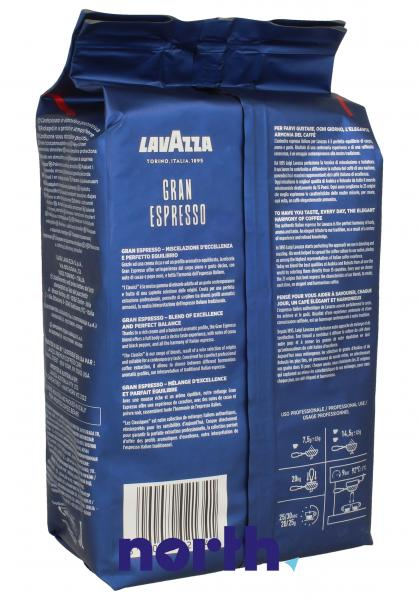 Kawa ziarnista Lavazza Gran Espresso 1000g do ekspresu do kawy,1