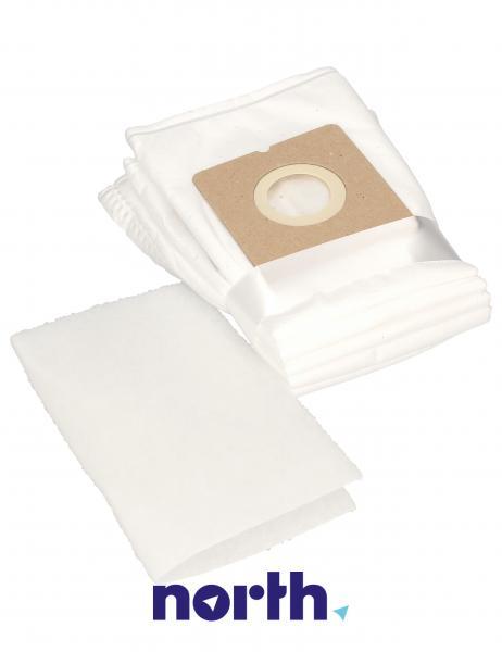 Worki Perfect Bag Worwo MPMB03K (5szt.) + filtr wlotowy (1szt.) do odkurzacza MPMB03K,2