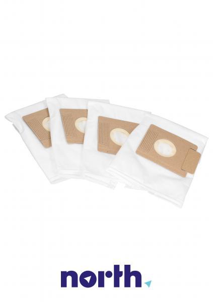 Worki Perfect Bag Worwo (4szt.) + filtr wlotowy do odkurzacza EMB01K,2