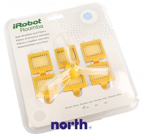 Zestaw szczotek i filtrów (3x2 filtry HEPA, 3 wirujące szczotki boczne) do robota odkurzającego 68241,0