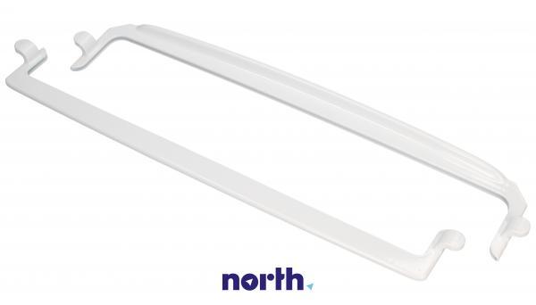 Ramki półki szklanej (zestaw przednia + tylna) do lodówki 1035517,4