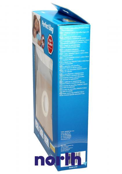 Worki Perfect Bag Worwo (4szt.) + filtr wlotowy do odkurzacza LMB03K,2
