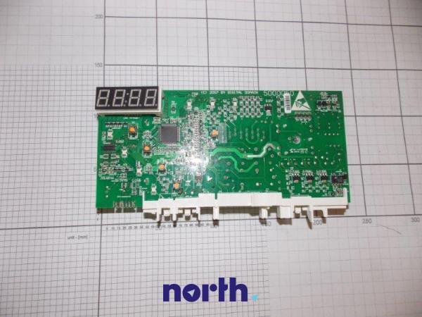 Moduł elektroniczny PC5.04.46.202 skonfigurowany do pralki Amica 8046634,1