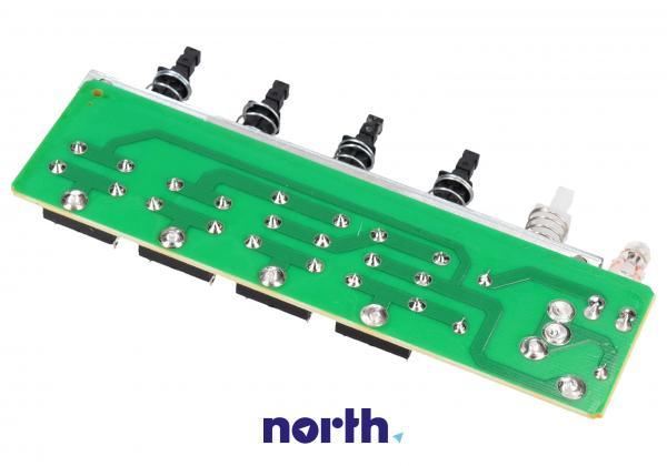 Sterownik   Płytka z przełącznikami panelu sterowania do okapu Amica 1007310,1