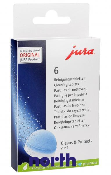 Preparat czyszczący (tabletki) 6szt. do ekspresu do kawy Jura 62715,0