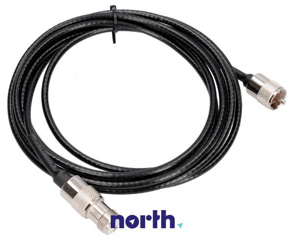 Przedłużacz CB 3m +beczka UHF,0