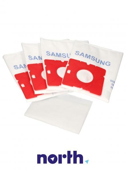 Worki Perfect Bag Worwo SMB01K (4szt.) + filtr wlotowy do odkurzacza SMB01K,2