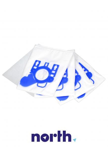 Worki Perfect Bag Worwo (4szt.) + filtr wlotowy (1szt.) do odkurzacza Miele MLMB01K,3