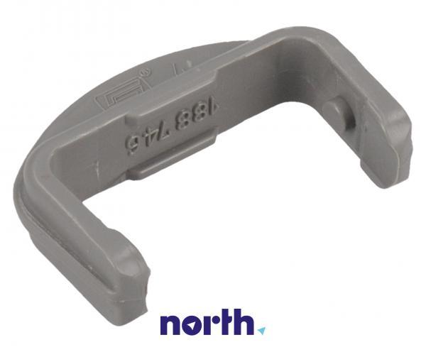 Blokada | Ogranicznik prowadnicy kosza przedni do zmywarki Amica 1012466,1