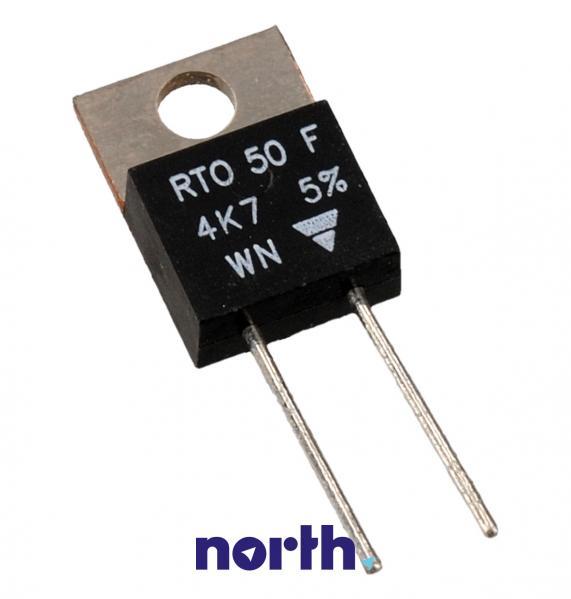 RTO50F 4,7  50W 4,7K 5% TO220 rezystor,0