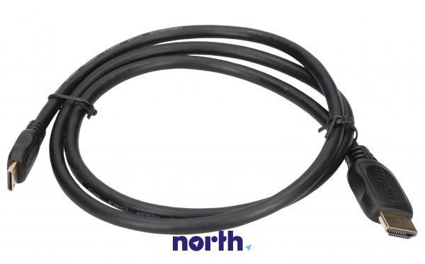 Kabel HDMI - HDMI mini 1m HDMI (wtyk/ mini wtyk) standard,0