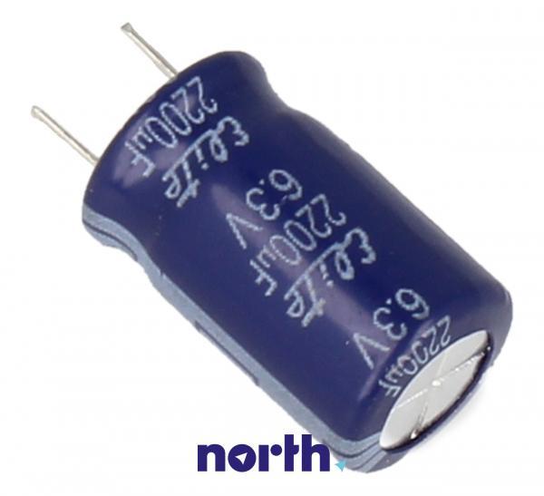 2200uF | 6.3V Kondensator elektrolityczny 85°C 30031825 40mm/25mm,1