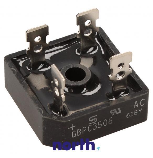 KBPC3506 Mostek prostowniczy 600V 35A,0