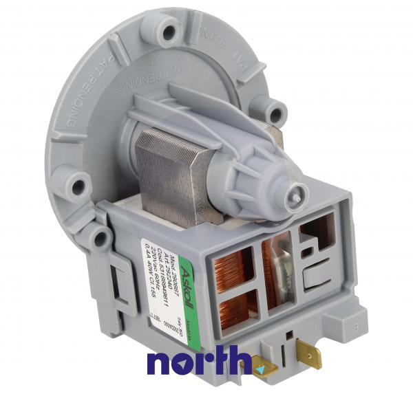 Silnik pompy odpływowej 290887 do pralki Electrolux 53188949811,1