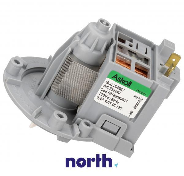 Silnik pompy odpływowej 290887 do pralki Electrolux 53188949811,2
