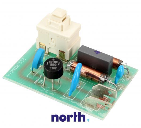Płytka elektroniczna elektroszczotki do odkurzacza - oryginał: 00757109,0