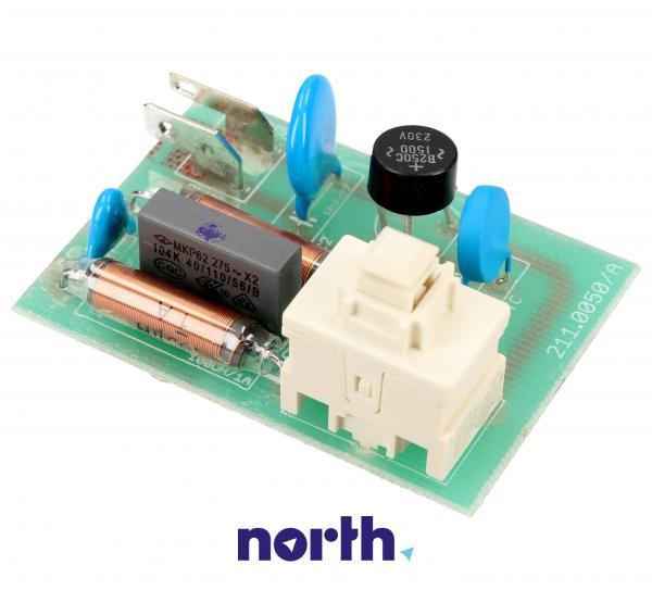 Płytka elektroniczna elektroszczotki do odkurzacza - oryginał: 00757109,1