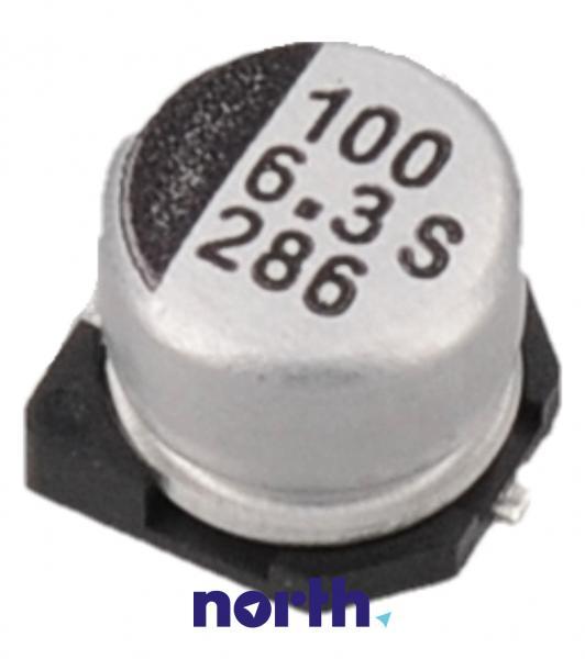 100uF | 6.3V Kondensator elektrolityczny 105°C SMD 5.8mm/6.3mm,0