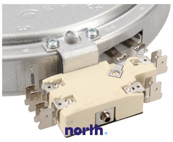 Pole grzejne średnie 1800W 180mm do płyty grzewczej Siemens 00647881,2