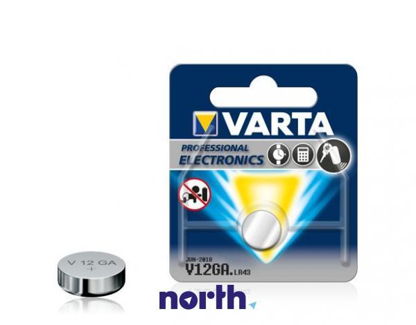 LR43 | V12GA | 186 Bateria 1.55V 80mAh Varta (1szt.),0