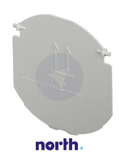 Klapka kanału wentylatora do okapu Siemens 00084848,1
