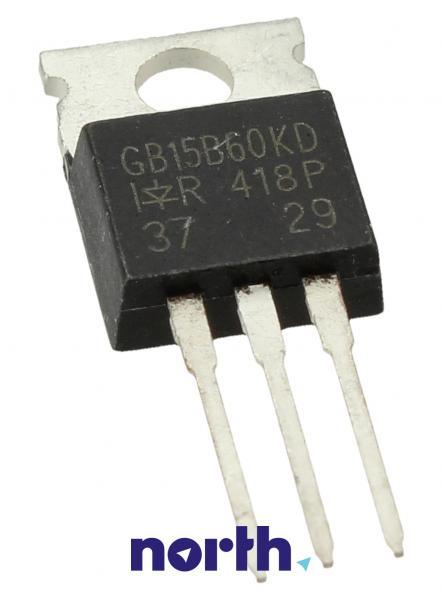 IRGB15B60KD Tranzystor TO-220AB (n-channel) 600V 15A 62.5MHz,0