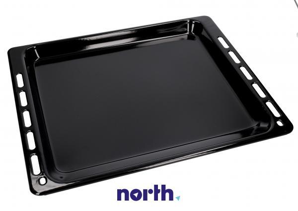Blacha do pieczenia płytka (emaliowana) NFP 34 do piekarnika (37.5cm x 44.5cm x 2cm) 481931018457,0