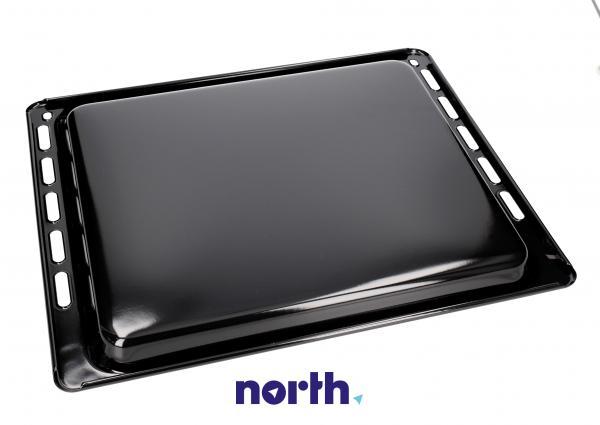 Blacha do pieczenia płytka (emaliowana) NFP 34 do piekarnika (37.5cm x 44.5cm x 2cm) 481931018457,1